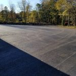 paved parking area