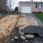 driveway after grading