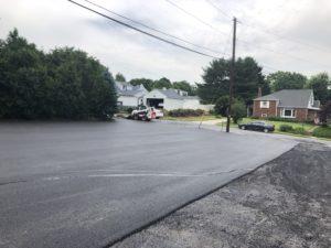 repaved driveway